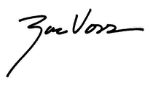 Zac Voss signature